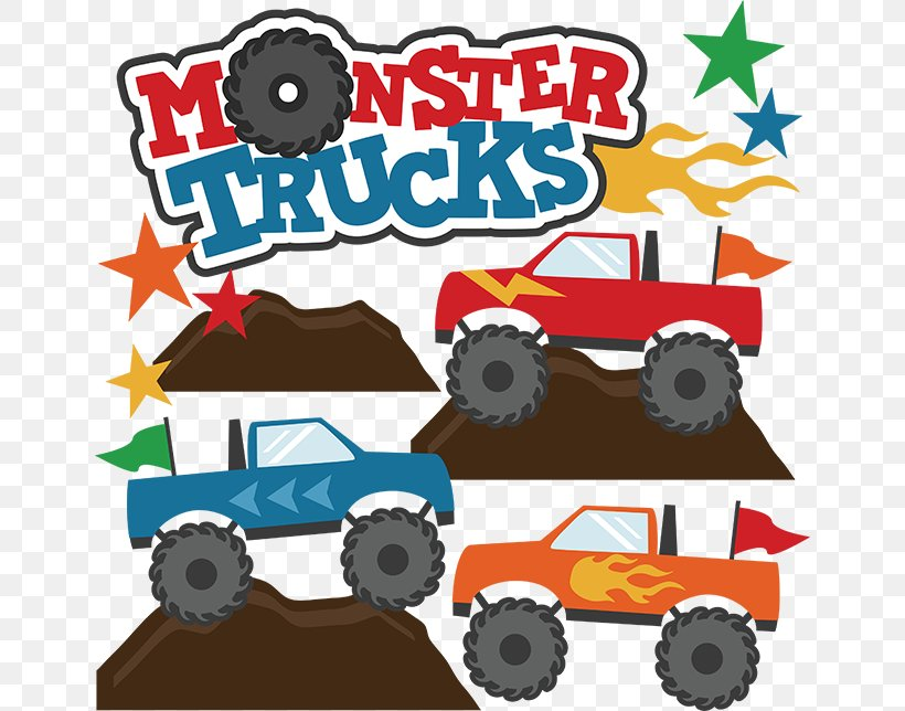Car Pickup Truck Ford Excursion Monster Truck Clip Art, PNG.