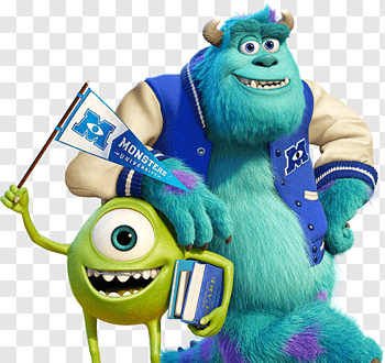 Monsters University cutout PNG & clipart images.