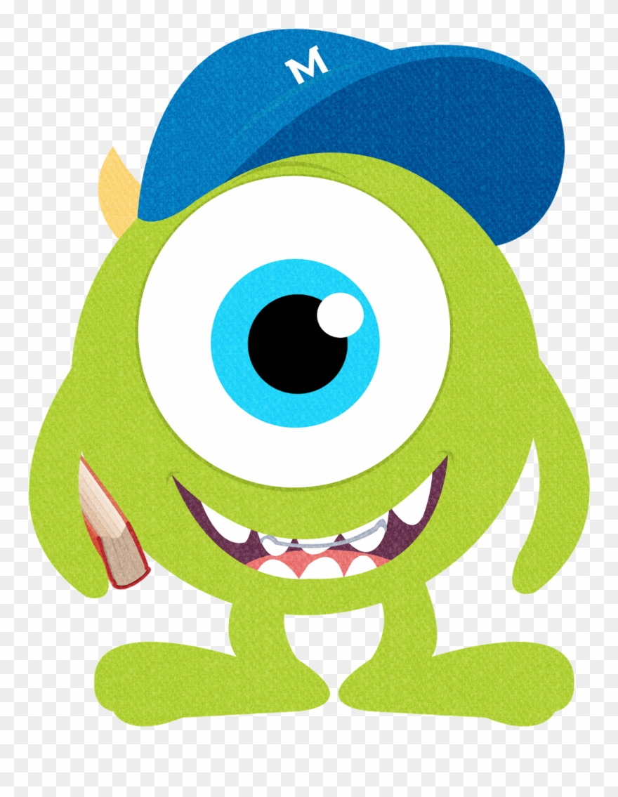 Monsters Clipart Numbers Mike Inc / Monster Clipart.
