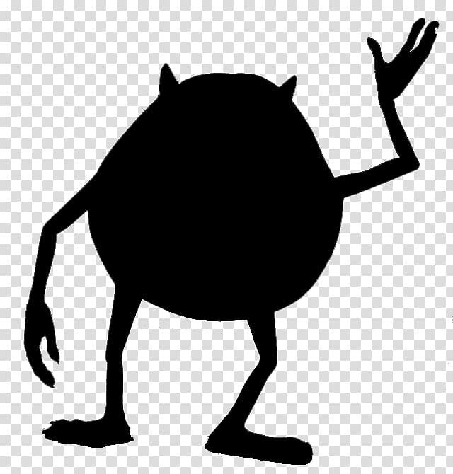 Mike Wazowski Silhouette YouTube Monsters, Inc., monster inc.