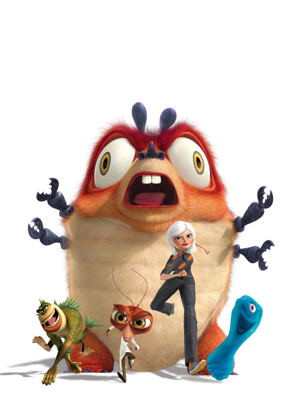 Monsters vs. Aliens.