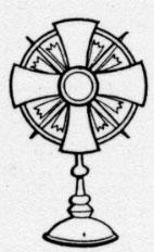 Clip Art Blessed Sacrament Clipart.