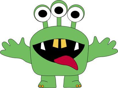 monster clipart for kids.