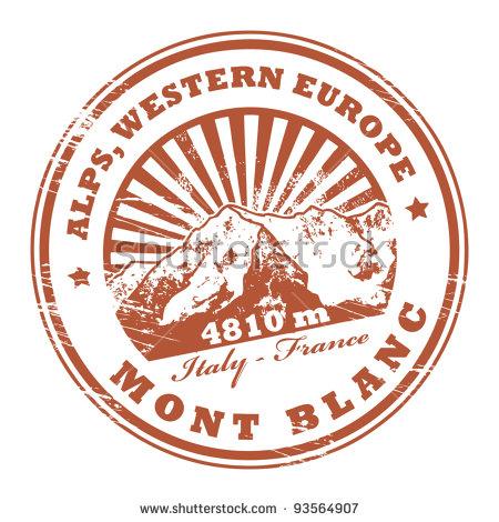Mont Blanc Stock Photos, Royalty.