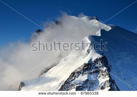 Snow Avalanche Stock Photos, Royalty.