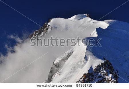 Mont Blanc Du Tacul Stock Photos, Royalty.