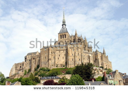Mont Saint Michel Normandy France Stock Photo 94956061.