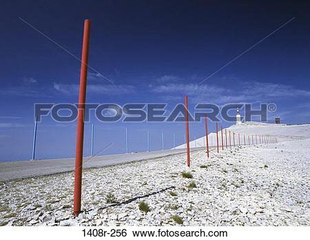 Stock Images of Mont Ventoux, France 1408r.