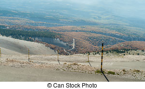 Stock Images of weather station on summit of Mont Ventoux.