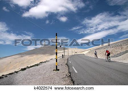 Stock Photo of Mont Ventoux k4022574.