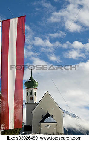 "Stock Photograph of ""Parish and pilgrimage church of St."