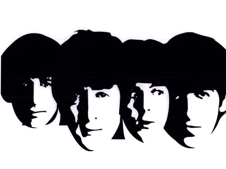 Beatles montage clipart.