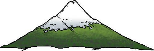 Mountain clipart.