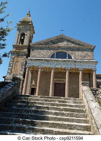Stock Photo of Montalcino.