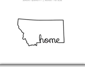 Montana svg.