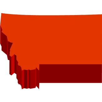 Montana State Outline Clip Art Pictures to Pin on Pinterest.