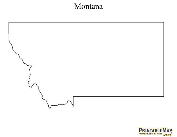 Free printable maps of all 50 state outlines!.