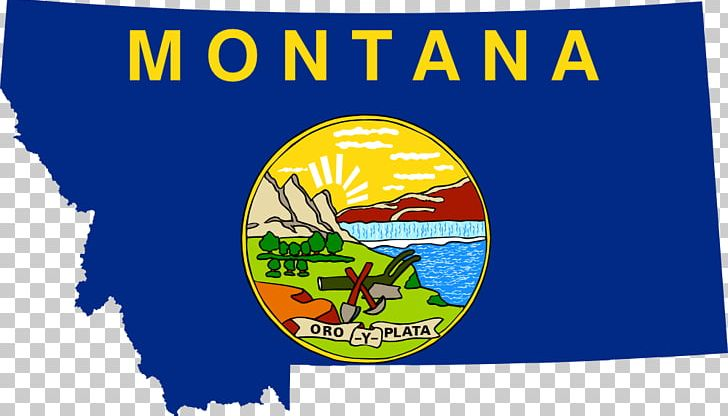 Flag Of Montana State Flag PNG, Clipart, Advertising, Area.