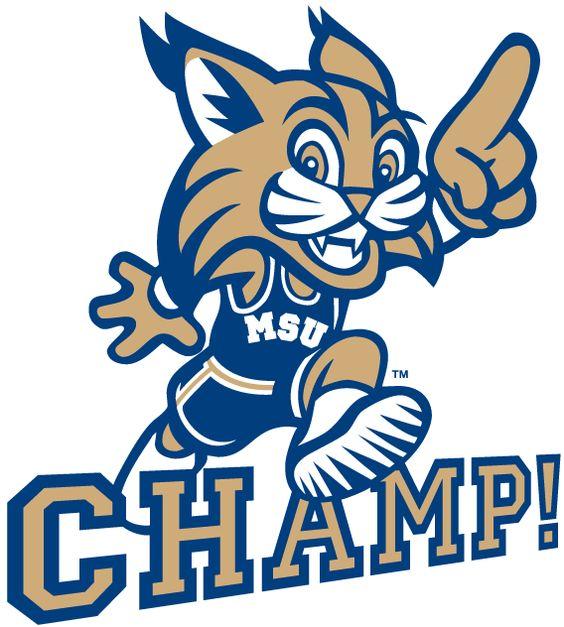 Montana State Bobcats Mascot Logo (0).