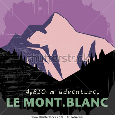 Mont Blanc Stock Vectors, Images & Vector Art.