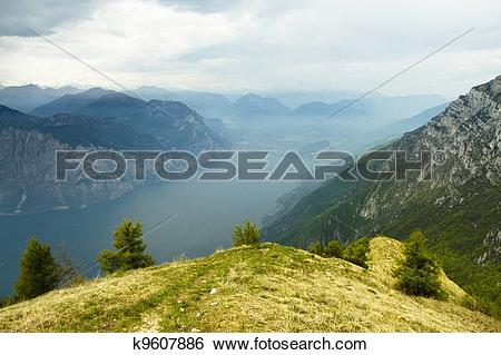 Stock Images of Monte Baldo, Trentino, Italy k9607886.