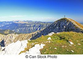 Picture of Limestone rock on Monte Baldo, Trentino, Italy.