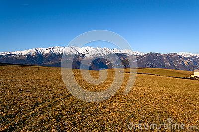 Monte Baldo In Winter.