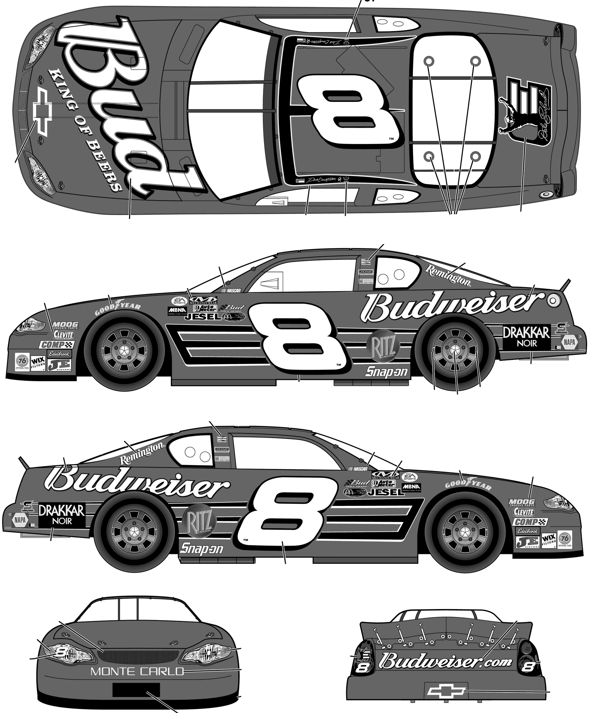 dale earnhardt clipart Clipground