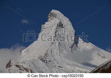 Stock Images of Matterhorn, Swiss Alps.