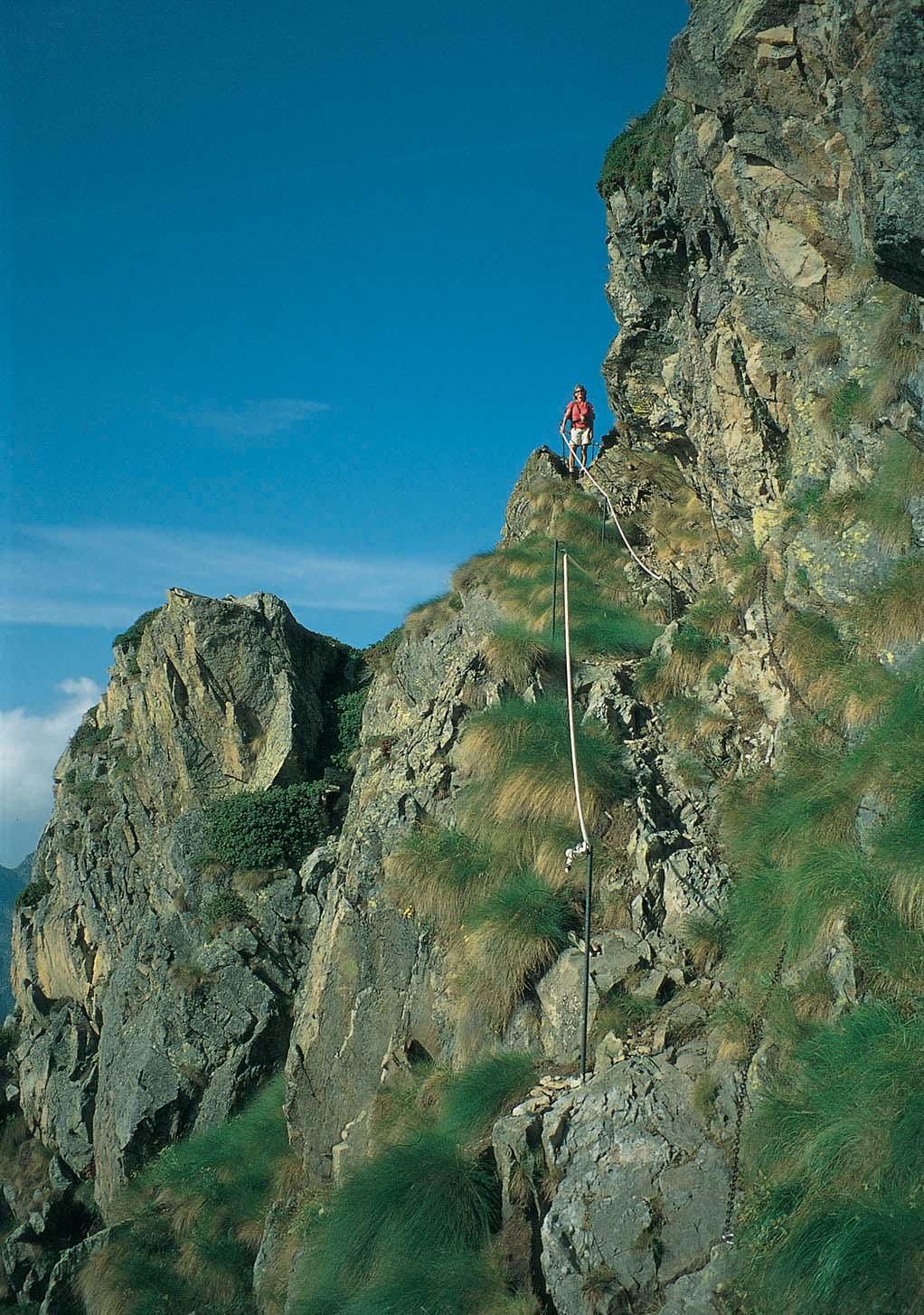 Trekking in the Alps Guidebook.