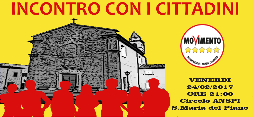 Movimento 5 Stelle Montescudo e Montecolombo (Rimini).