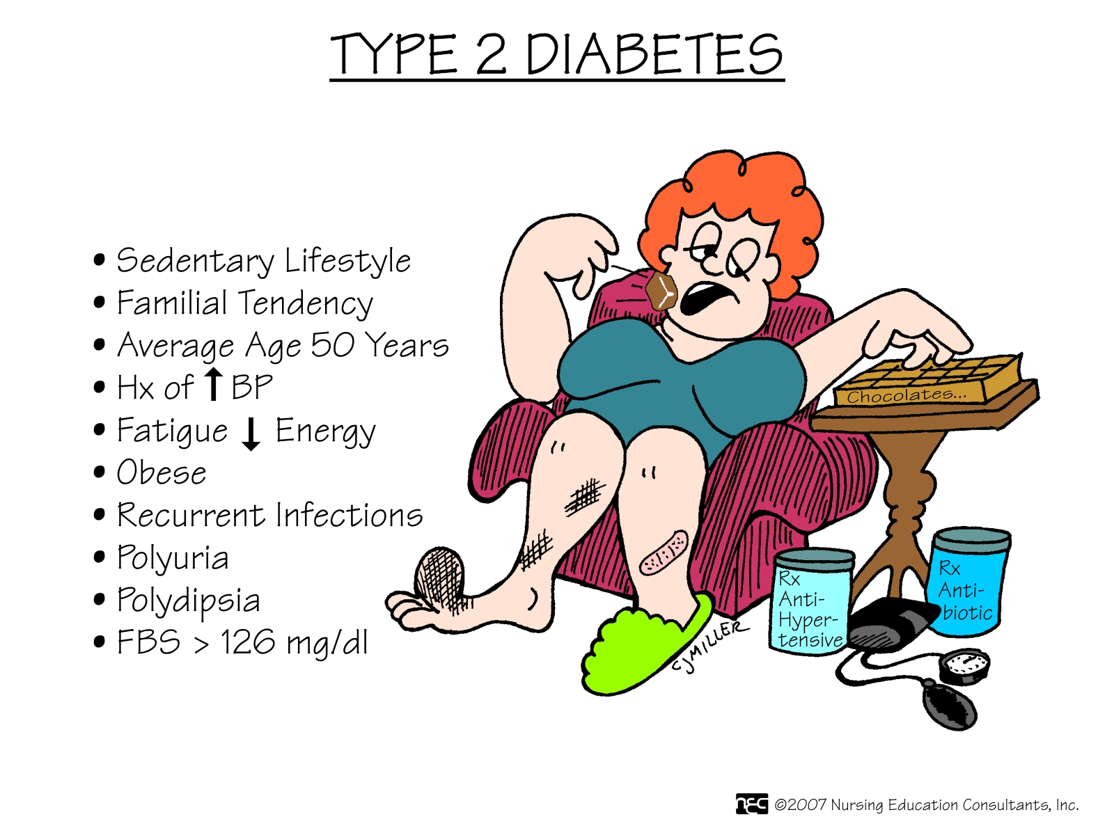 Type 2 Diabetes Type 2 diabetes is a lifelong (chronic) disease in.