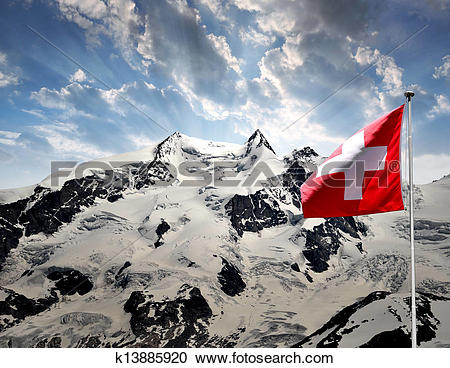 Stock Photography of Monte Rosa k13885920.