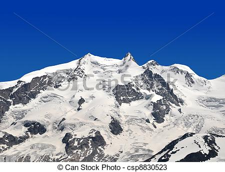 Stock Photos of Monte Rosa.