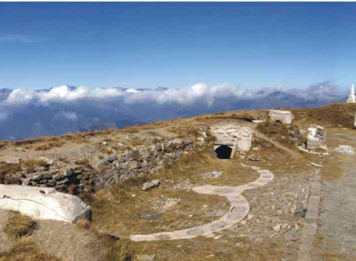 Hiking the Via Alpina.