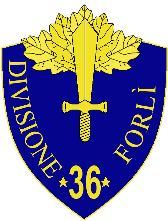 36th Infantry Division Forlì.