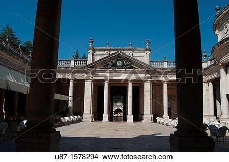Stock Photo of Italy, Tuscany, Montecatini Terme, Tettuccio.