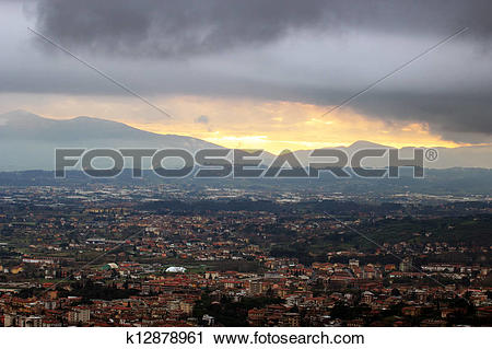 Stock Photography of Montecatini Terme, Tuscan Spa town in Italy.