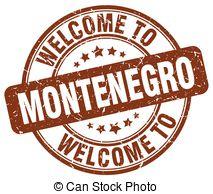 Vector Clip Art of welcome to Montenegro stamp csp39571515.
