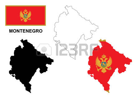 701 Montenegro Map Stock Illustrations, Cliparts And Royalty Free.