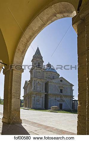 Stock Photography of Italy, Tuscany, Montepulciano, Madonna di San.