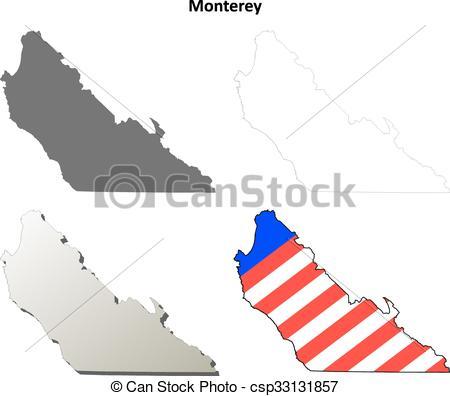 Monterey clipart.