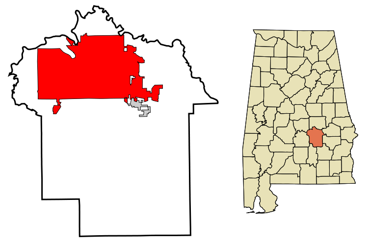 File:Montgomery County Alabama Incorporated and Unincorporated.