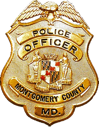 Badge of the Montgomery County, Maryland Police Department.
