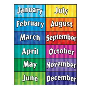 Clip Art Months Of The Year Clipart.