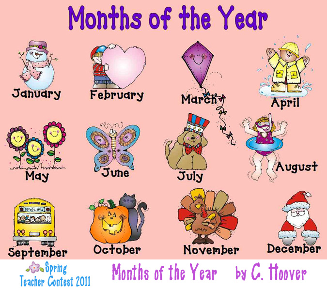 Month Clip Art Free.