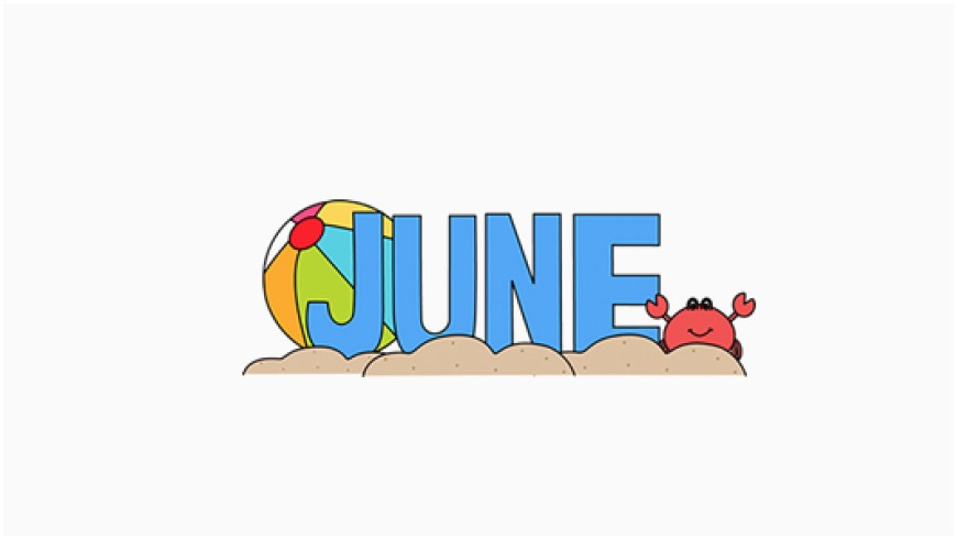 Month Of June Clipart.