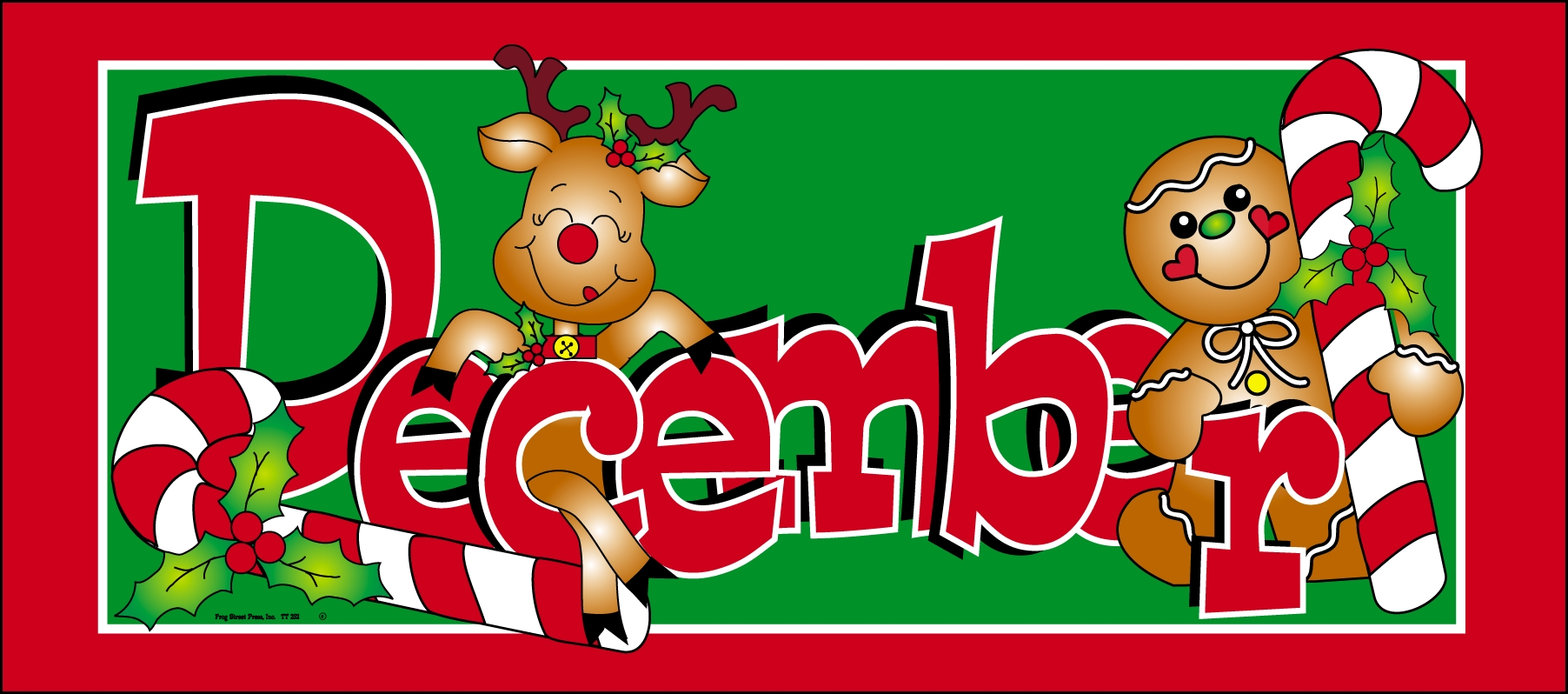 Month December Clipart Free.