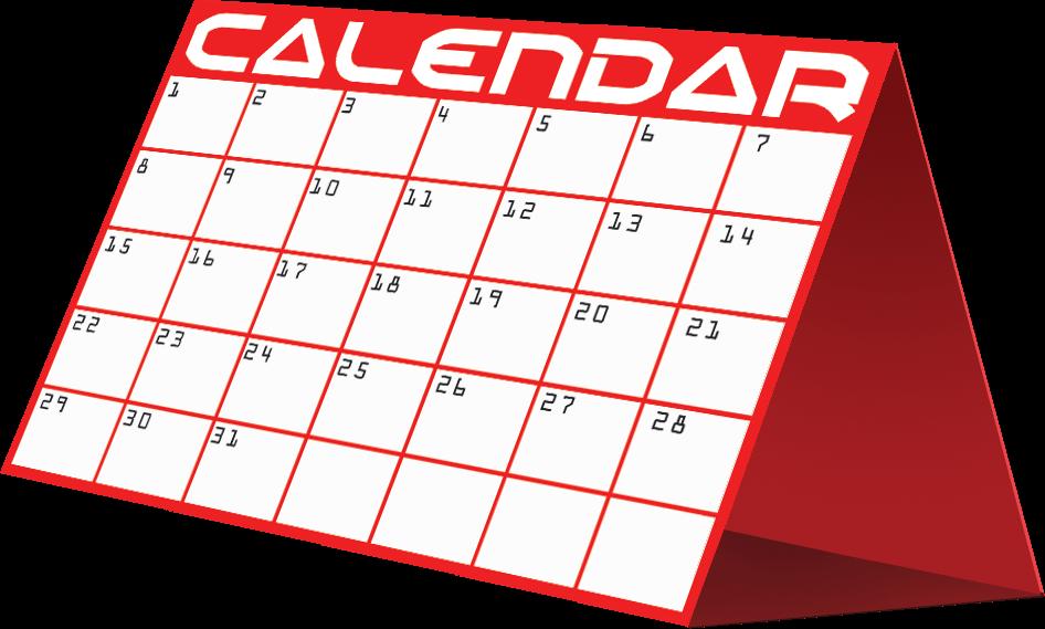 Month Calendar Cliparts.