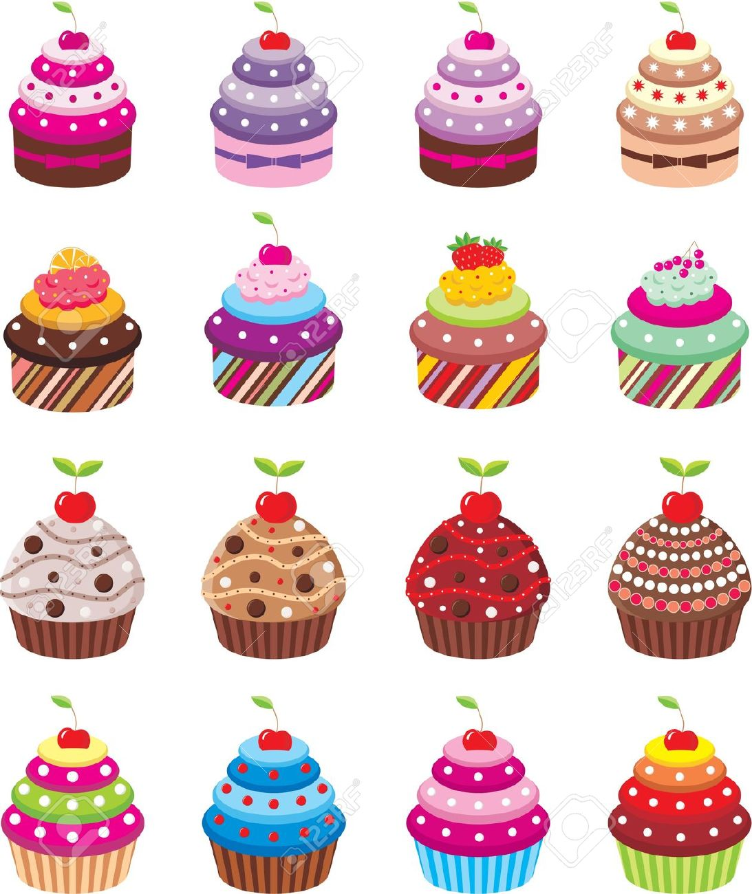 Cupcakes Royalty Free Cliparts, Vectors, And Stock Illustration.